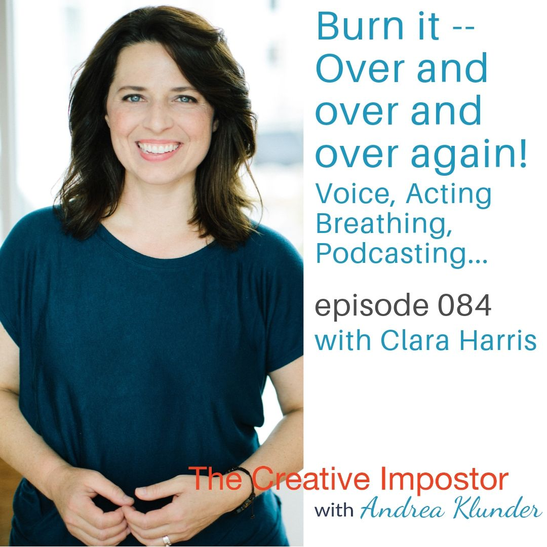 CI084: Burn it — over and over and over again with Clara Harris
