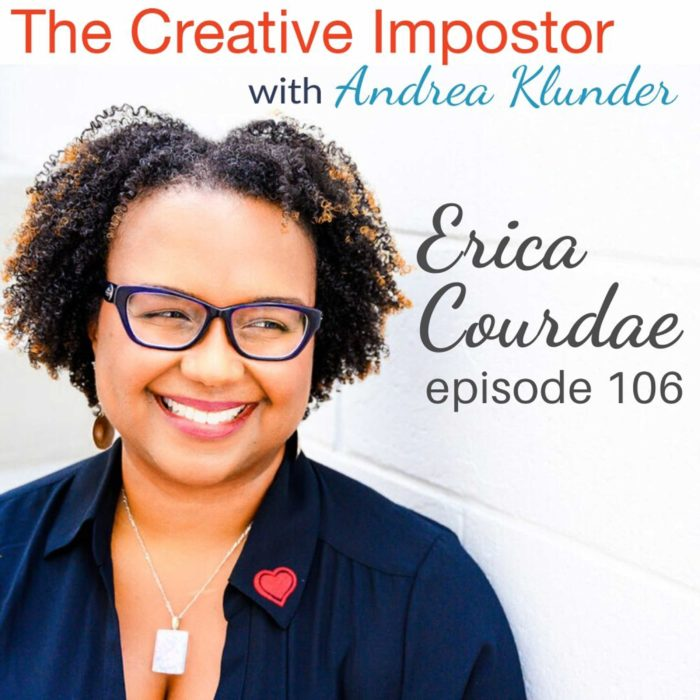 CI106: Allow space to simply connect with people with Erica Courdae